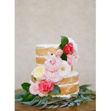 БСВ 063 Торт с живыми цветами