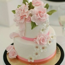 СВ 0313 торт нежность роз