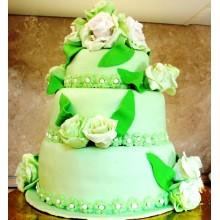 БСВ 266 Торт свадебный зеленый