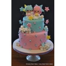 СМ 041 торт для близнецов