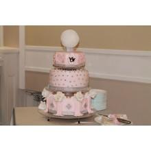 БСВ 225 Торт свадебный розовый