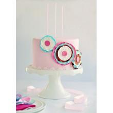 РМ 0383 Торт нежно-розовый