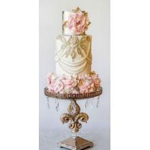 БСВ 236 Торт свадебный роскошь и блеск