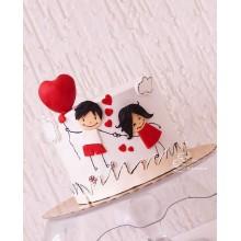 РМ 146 Торт для влюбленной пары