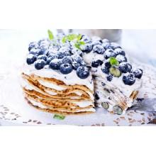 ПР 162 Блинный торт с голубикой