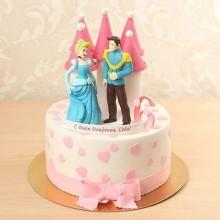 ДТ 3691 Торт принц и Золушка