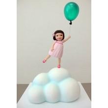 ДТ 0191 Торт девочка на небе