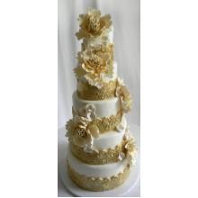 БСВ 269 Торт свадебный элегантный шик