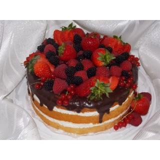 ПР 2 Праздничный торт с фруктами