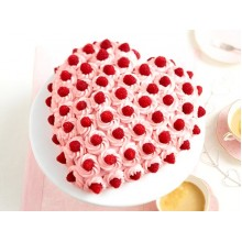 ПР 26 Вкусный торт в виде сердца