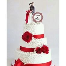 СВ 2293 торт свадебный классика