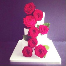 СВ 77 Торт свадебный красивый