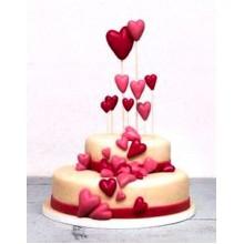 СВ 003 Торт с сердечками