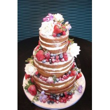 ГТ 1 торт голый с ягодами