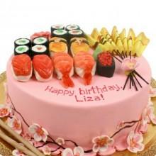 ПР 117 Торт в виде суши