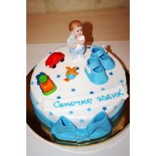 СМ 125 Торт для мальчика на годик