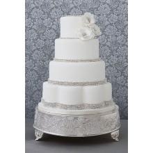 СВ 223 Торт свадебный белоснежный