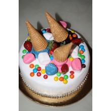 СМ 741 Торт в виде мороженого и конфет