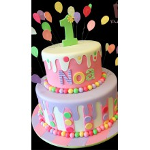 СМ 159 Торт для детей много шариков