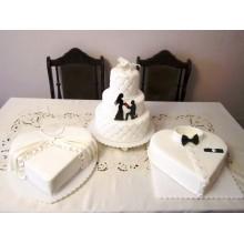 Бсв 884 торты свадебные белые