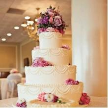 БСВ 52 Торт свадебный большой и красивый