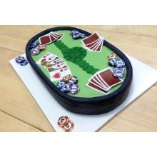 ПР 744 Торт покерный стол