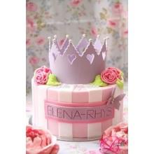 ДТ 773 Торт для девочки с короной