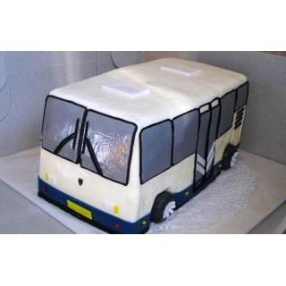 ПР 449 торт в виде автобуса