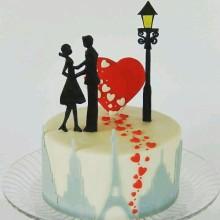 РМ 003 Торт романтичный