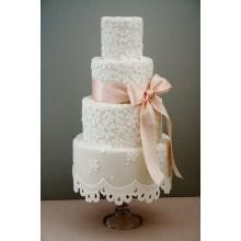 БСВ 016 торт свадебный кружевной