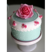 РМ 065 Торт нежная роза