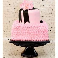 РМ 066 Торт розовый элегантный