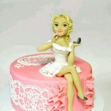 РМ 988 Торт блондинка