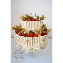ФРТ 012 Торт фруктоыое счастье