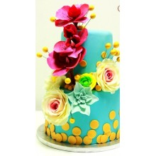 СВ 031 Торт цветочный рай