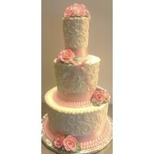 СВ 221 Торт свадебная классика