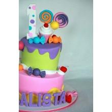 Дт 826 торт с конфетками для детей