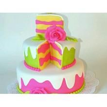ПР 083 Торт яркий праздничный
