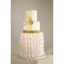 БСВ 003 Свадебный торт роскошная нежность