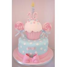 ДТ 004 Торт нежный для девочек