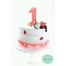 ДТ 824 торт на годик для девочки