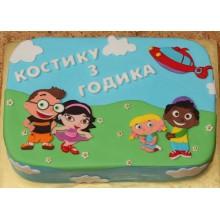 ДТ 008 Торт Маленькие Эйнштейны