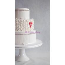 БСВ 129 Торт свадебный с сердечком