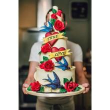 БСВ 006 Торт свадебный веселый