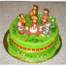 ДТ 8889 Торт с мультяшками