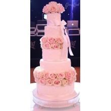 БСВ 35 Большой нежно розовый торт