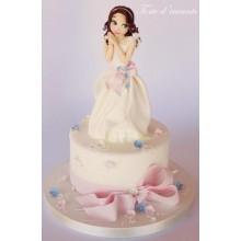 СМ 222 Торт прекрасная принцесса