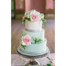 БСВ 381 торт свадебный нежный