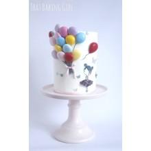 ДТ 34 Торт девочка с шариками