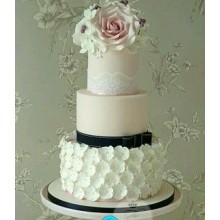СВ 063 Торт свадебный стильный